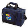 Picnic Time Malibu Digital Print - Navy Blue University of Kansas Jayhawks