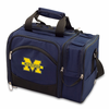 Picnic Time Malibu Digital Print - Navy Blue University of Michigan Wolverines