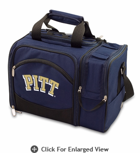 Picnic Time Malibu Digital Print - Navy Blue University of Pittsburgh Panthers