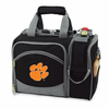 Picnic Time Malibu Embroidered - Black Clemson University Tigers