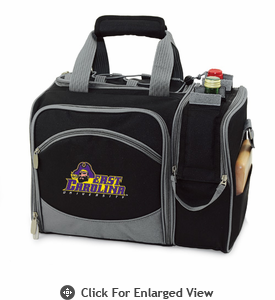Picnic Time Malibu Embroidered - Black East Carolina Pirates