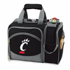 Picnic Time Malibu Embroidered - Black University of Cincinnati Bearcats