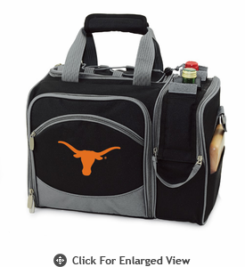 Picnic Time Malibu Embroidered - Black University of Texas Longhorns