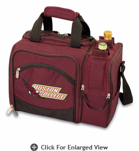 Picnic Time Malibu Embroidered - Burgundy Boston College Eagles