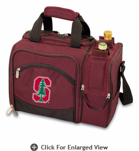Picnic Time Malibu Embroidered - Burgundy Stanford University  Cardinal