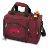 Picnic Time Malibu Embroidered - Burgundy University of Arkansas Razorbacks