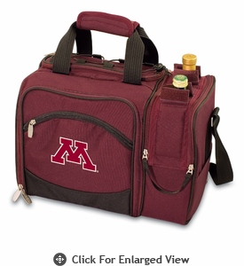 Picnic Time Malibu Embroidered - Burgundy University of Minnesota Golden Gophers