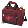 Picnic Time Malibu Embroidered - Burgundy Virginia Tech Hokies