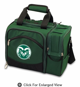 Picnic Time Malibu Embroidered - Hunter Green Colorado State Rams