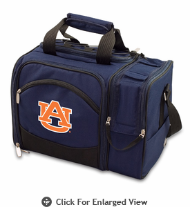 Picnic Time Malibu Embroidered - Navy Blue Auburn University Tigers