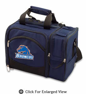 Picnic Time Malibu Embroidered - Navy Blue Boise State Broncos
