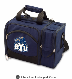 Picnic Time Malibu Embroidered - Navy Blue BYU Cougars