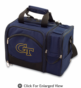 Picnic Time Malibu Embroidered - Navy Blue Georgia Tech Yellow Jackets