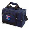 Picnic Time Malibu Embroidered - Navy Blue Louisiana Tech Bulldogs