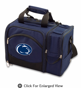 Picnic Time Malibu Embroidered - Navy Blue Penn State Nittany Lions