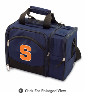 Picnic Time Malibu Embroidered - Navy Blue Syracuse University Orange