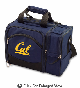 Picnic Time Malibu Embroidered - Navy Blue UC Berkeley Golden Bears