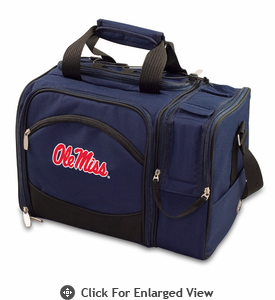 Picnic Time Malibu Embroidered - Navy Blue University of Mississippi Rebels
