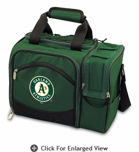 Picnic Time Malibu - Hunter Green Oakland Athletics