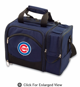 Picnic Time Malibu - Navy Blue Chicago Cubs