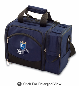 Picnic Time Malibu - Navy Blue Kansas City Royals