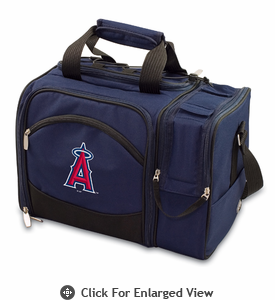Picnic Time Malibu - Navy Blue Los Angeles Angels