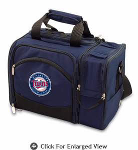 Picnic Time Malibu - Navy Blue Minnesota Twins