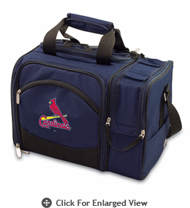 Picnic Time Malibu - Navy Blue St. Louis Cardinals