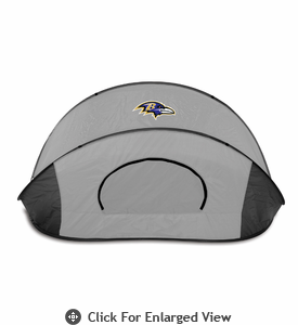 Picnic Time Manta - Black/Gray Baltimore Ravens