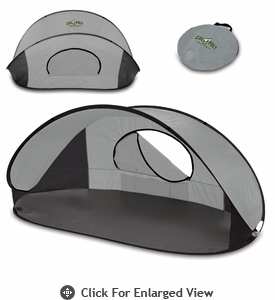 Picnic Time Manta Sun Shelter Cal Poly Mustangs - Grey/Black