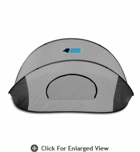 Picnic Time Manta - Black/Gray Carolina Panthers