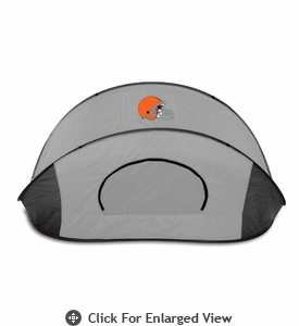 Picnic Time Manta - Black/Gray Cleveland Browns
