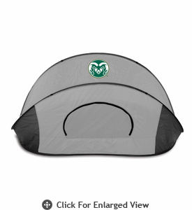 Picnic Time Manta - Black/Gray Colorado College Tigers