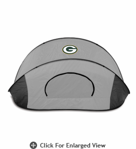 Picnic Time Manta - Black/Gray Green Bay Packers
