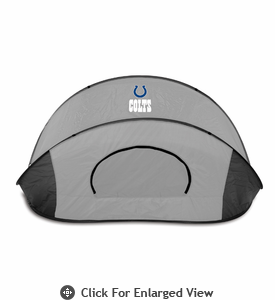 Picnic Time Manta - Black/Gray Indianapolis Colts
