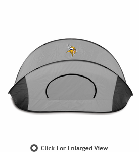 Picnic Time Manta - Black/Gray Minnesota Vikings