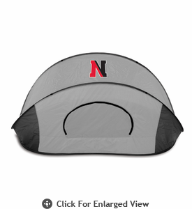 Picnic Time Manta - Black/Gray Northeastern University Huskies