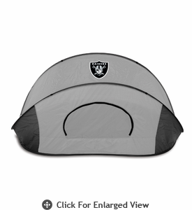Picnic Time Manta - Black/Gray Oakland Raiders