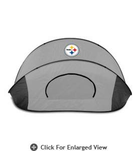Picnic Time Manta - Black/Gray Pittsburgh Steelers