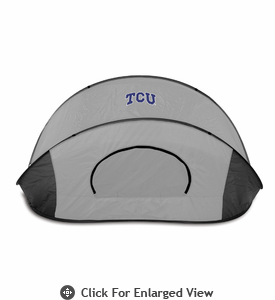 Picnic Time Manta - Black/Gray Texas Christian University Horned Frogs