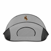 Picnic Time Manta - Black/Gray University of Wyoming Cowboys