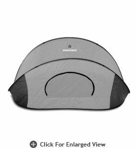 Picnic Time Manta - Black/Gray Vanderbilt University Commodores