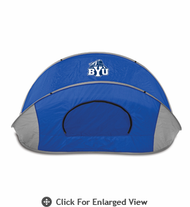 Picnic Time Manta Sun Shelter Brigham Young University Cougars - Blue
