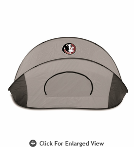 Picnic Time Manta Sun Shelter Florida State University Seminoles - Grey/Black