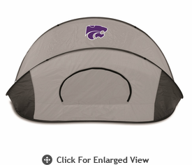 Picnic Time Manta - Grey/Black Kansas State University Wildcats