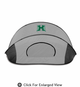 Picnic Time Manta Sun Shelter University of Hawaii Warriors - Grey/Black
