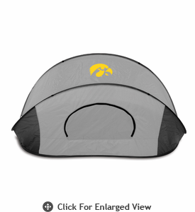 Picnic Time Manta - Grey/Black University of Iowa Hawkeyes