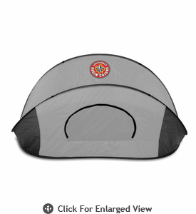 Picnic Time Manta Sun Shelter University of Louisiana Ragin Cajuns - Grey/Black