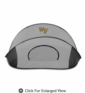Picnic Time Manta - Grey/Black Wake Forest University Demon Deacons