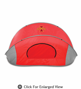 Picnic Time Manta Sun Shelter Iowa State University Cyclones - Red